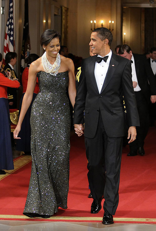 Barrack and Michelle