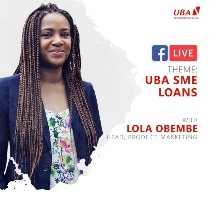 uba sme loans facebooklive