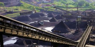 Manganese mining in Gabon
