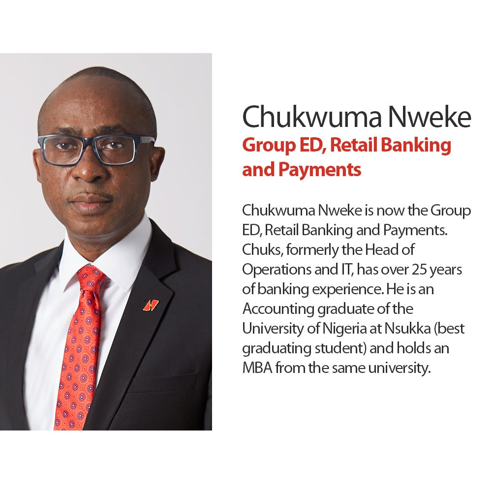 Chukwuma Nweke- Group ED Retail Banking and Payments- United Bank for Africa