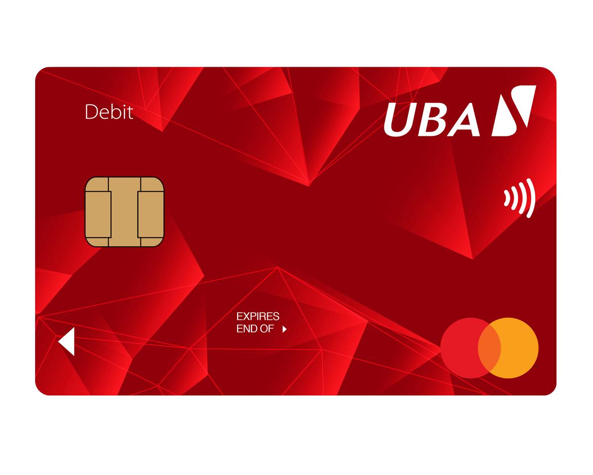 types of uba debit cards