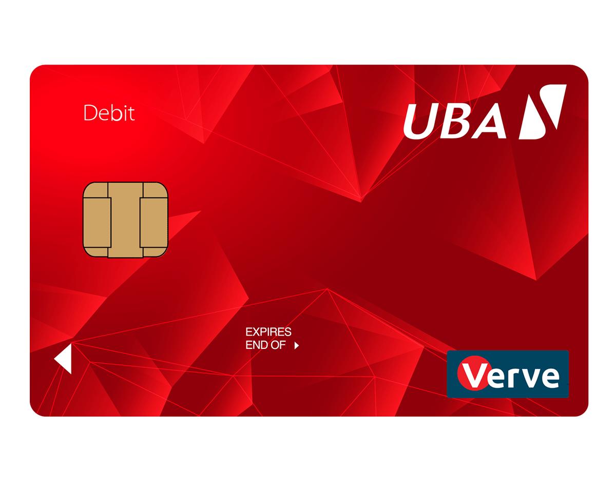 uba verve debit card
