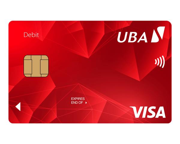 uba visa card