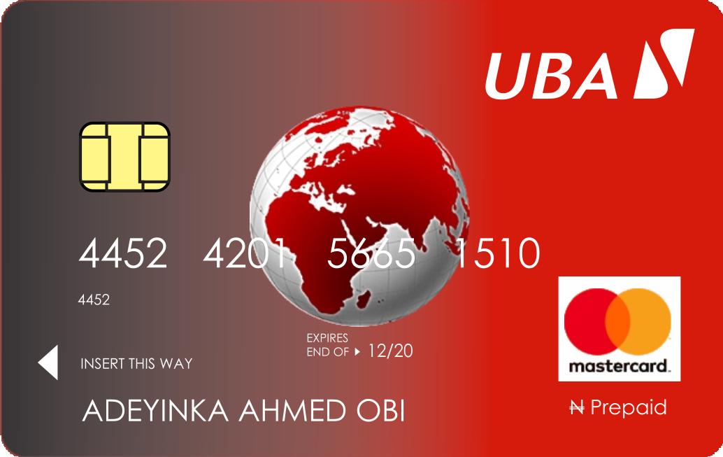 carte bancaire prépayée visa Cartes prépayées   UBA Guinea Conakry