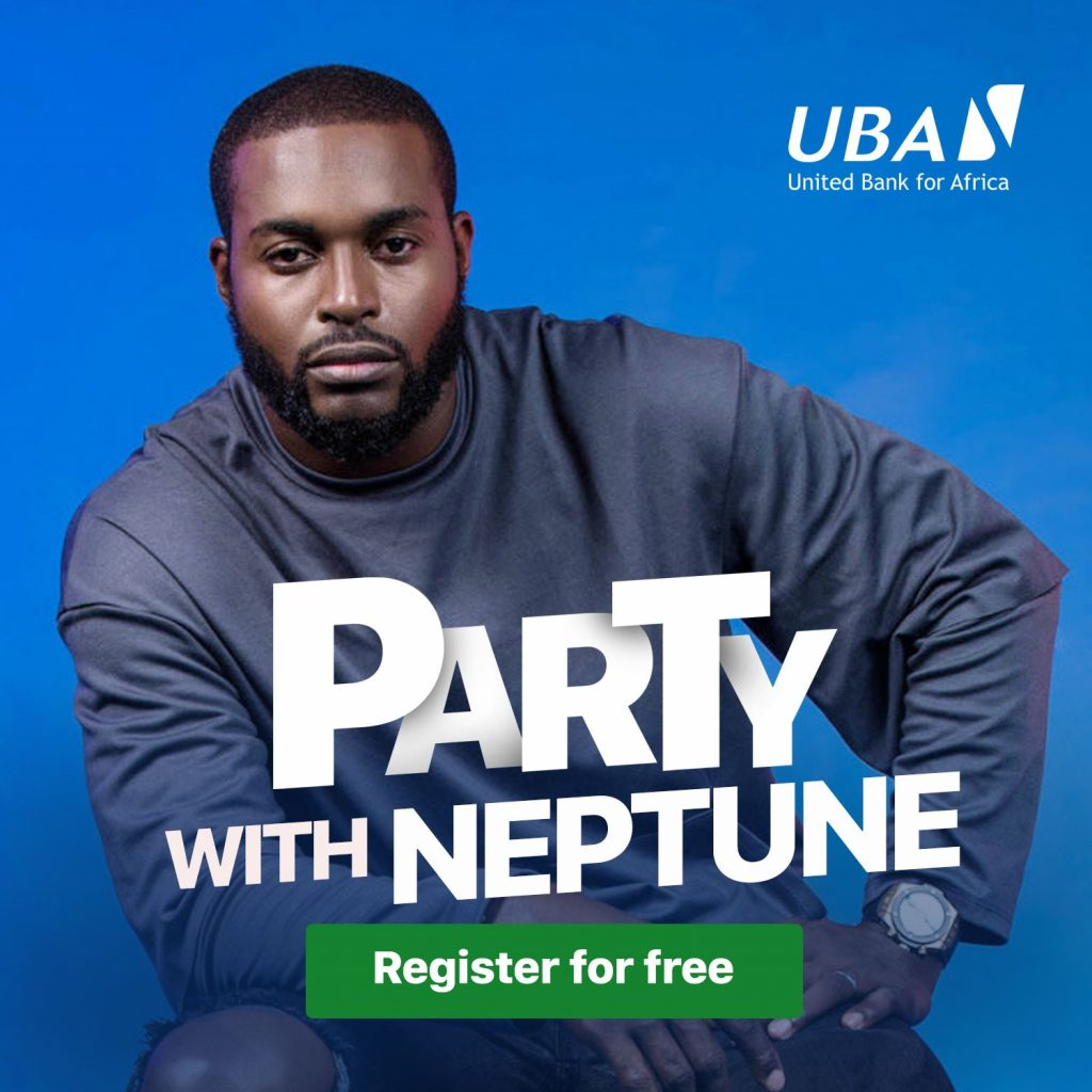 party with DJ Neptune at the UBA Marketplace