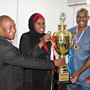 UBA Lions fc wins football trophy