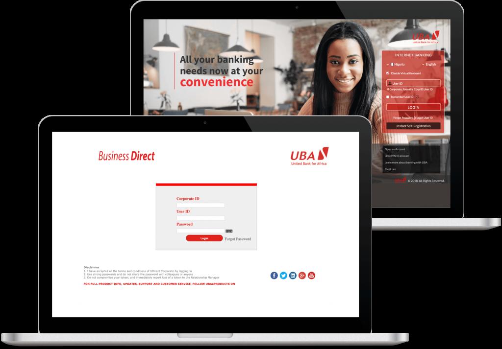 Internet Banking - UBA Uganda