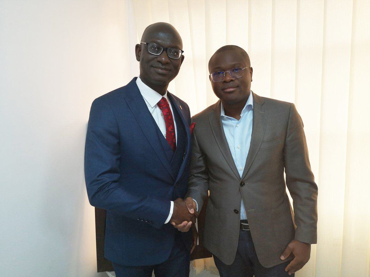 Gbenga Makinde UBA Benin Pays Courtesy visit officials of Benin Republic
