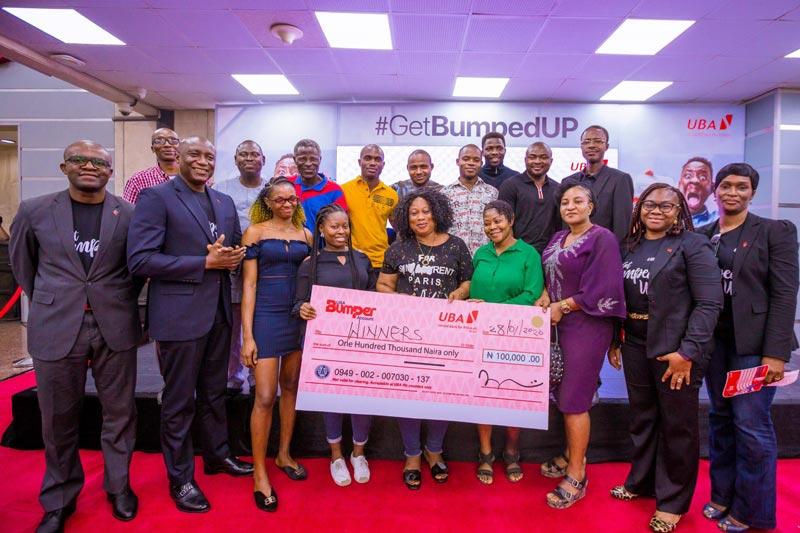 uba bumper account winners