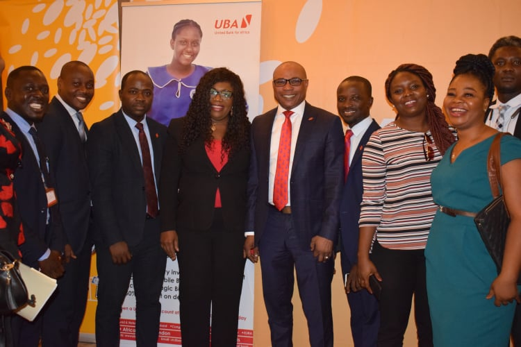 UBA Liberia launch Push and Pull Service with MTN Mobile Money